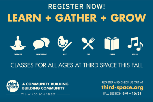 Third Space Registration Flyer