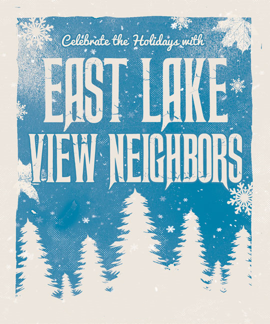 ELVN Holiday flyer